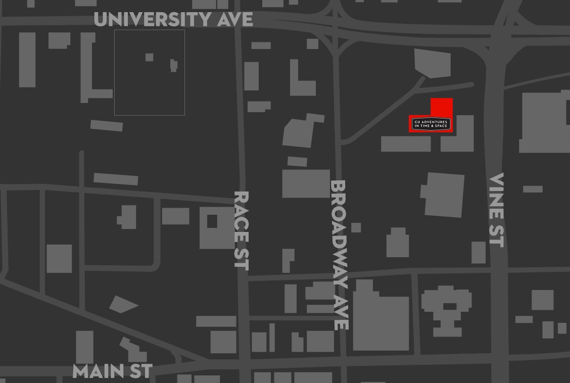 map of urbana highlighting 302 N Broadway