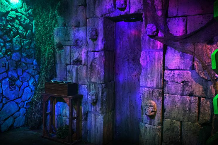 Explore the mysterious Forest Temple in our Game Night escape room.
